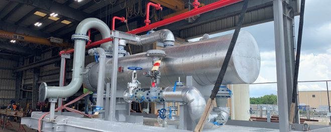Low Pressure Inlet Heater for Murphy Oil